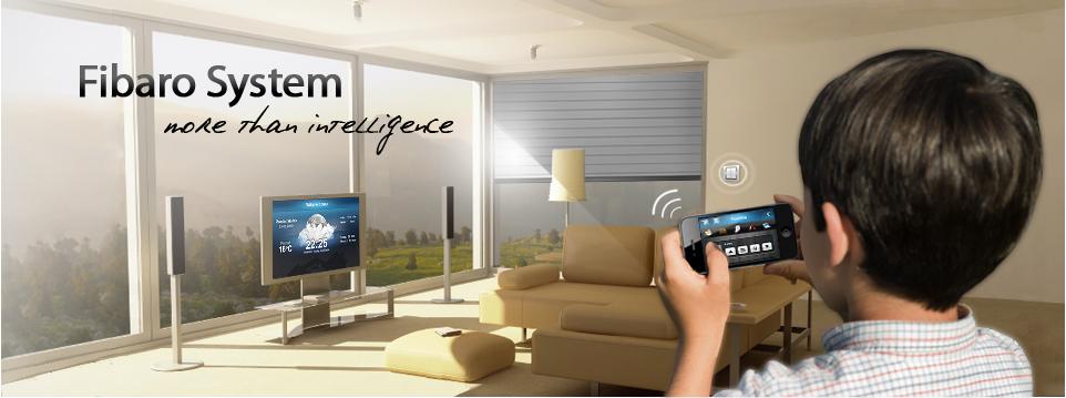 Wireless Z Wave Home Automation System Fibaro System