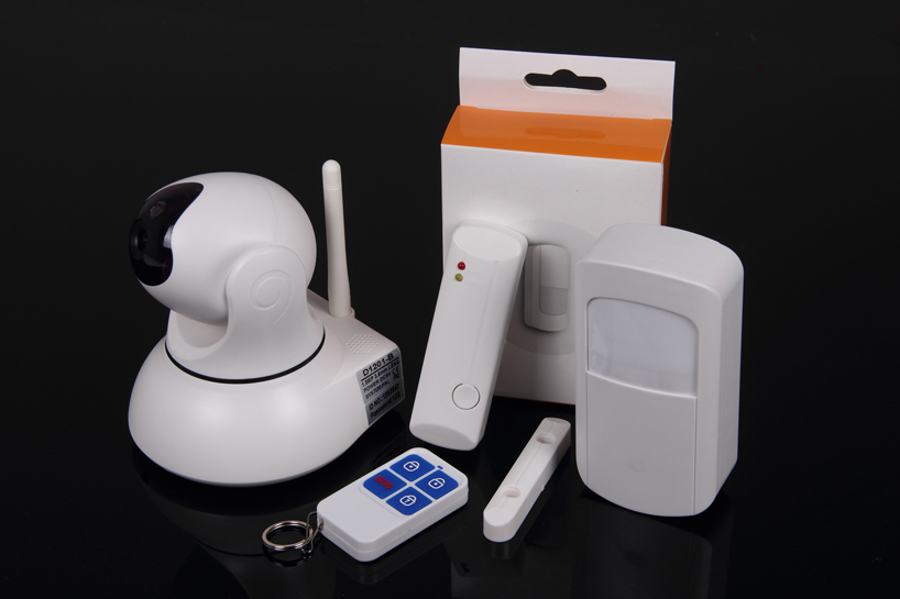 No Contract Monitoring Fee Alarm System With Hd Wifi Camera