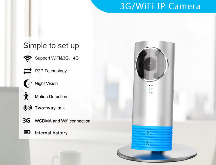 Introducing 3g Wifi Ip Camera Clever Dog