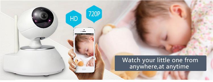 Wireless 720p Hd Wifi Baby Monitor Erobot