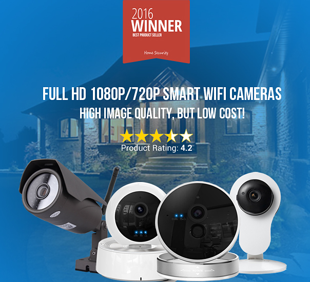 Full HD 1080P/720P Smart WiFi Cameras
