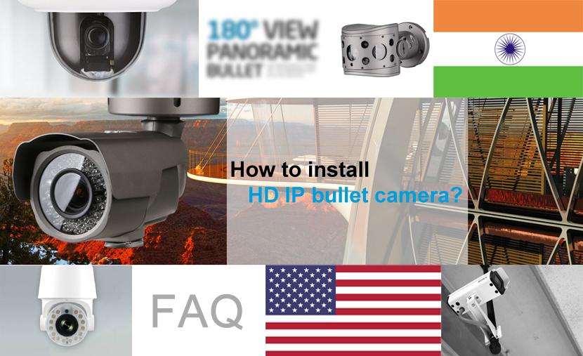 How To Install Hd Ip Ir Bullet Camera