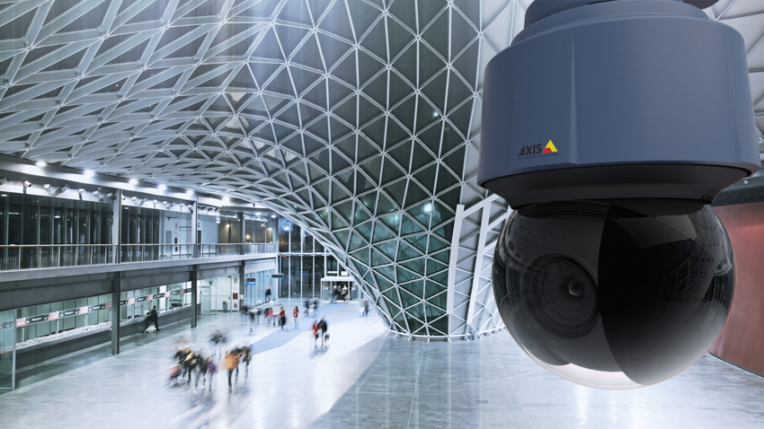 4k Ptz Dome Network Camera From Axis Q6128 E