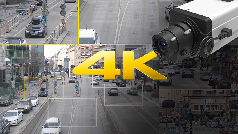 4K Ultra HD Video Surveillance