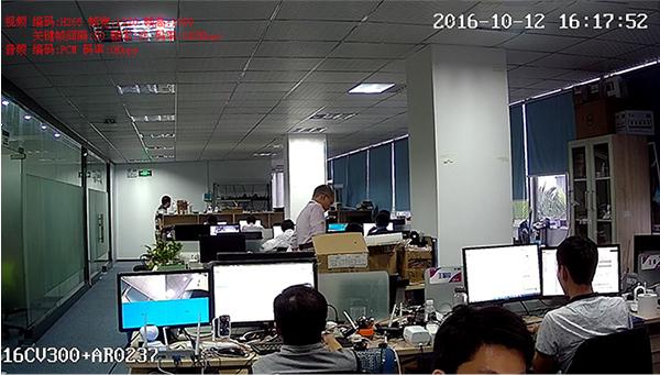 Indoor Image (Hi3516CV300 + AR0237)