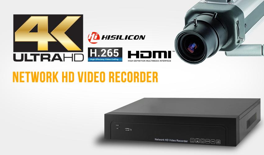 4K H.264+/H.264 NVR