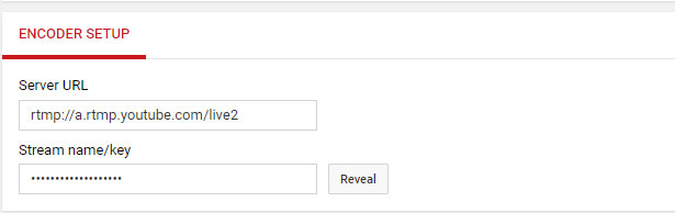 IP Camera RTSP Stream to Youtube Live