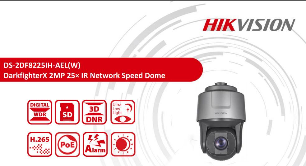 Test Hikvision 2 Megapixel Darkfighterx Ip Ptz Dome Camera