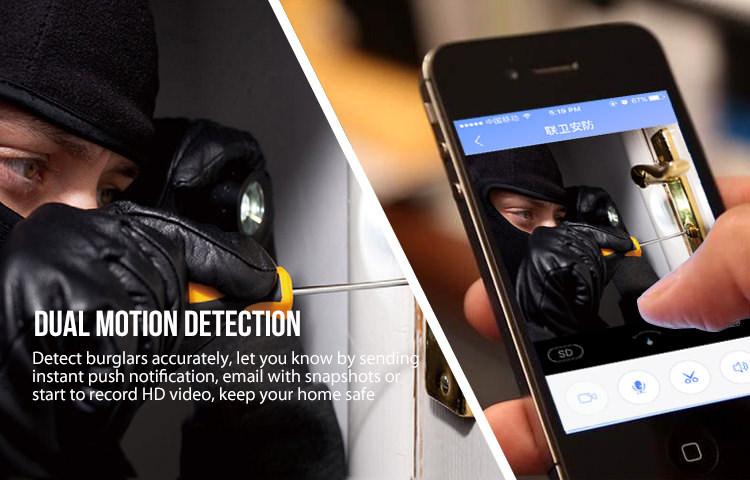 Dual motion detection