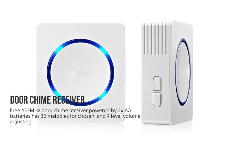 Wireless Door Chime Receiver