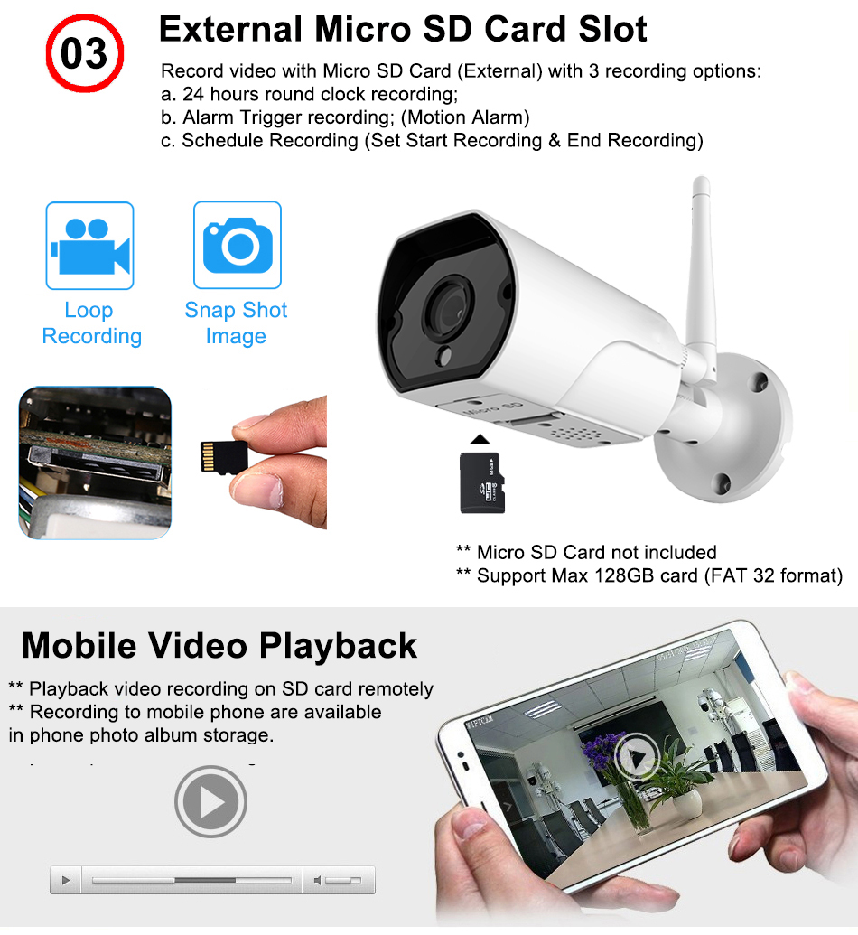 Best Outdoor 1080p Security Camera With Microphone Amp Speaker
