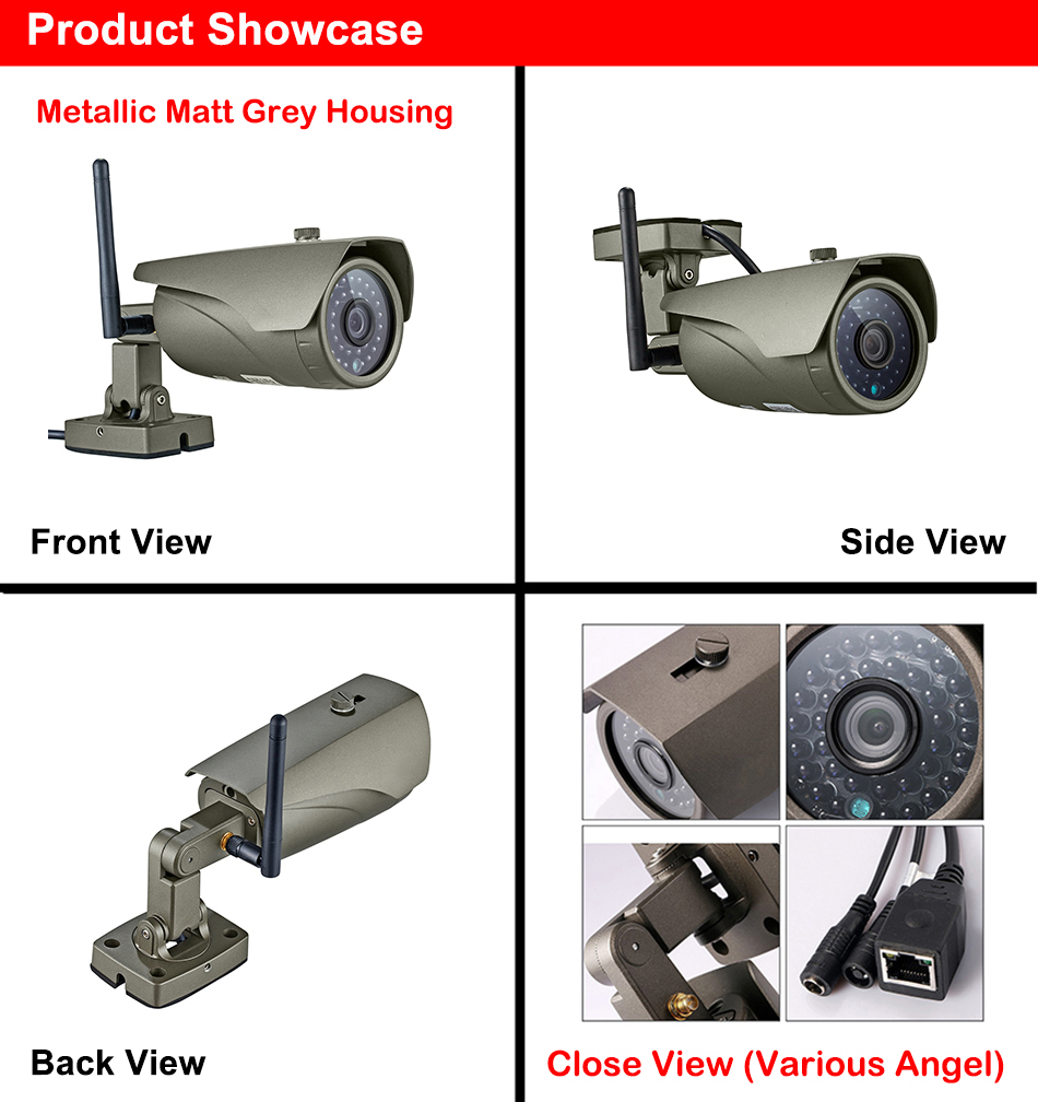 D1400-HE Outdoor Camera Product Details