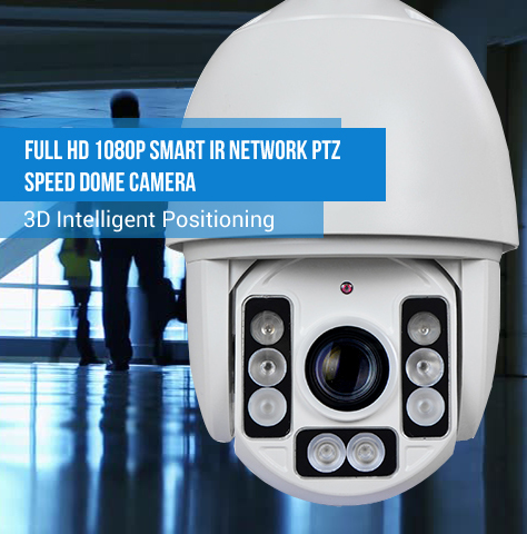 Full HD 1080P IP PTZ Speed Dome Camera