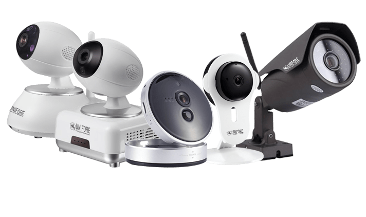 Unifore Hd Ip Camera Gsm Wi Fi Security System