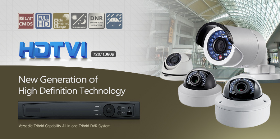 HDTVI 720p/1080p HD Analog Camera