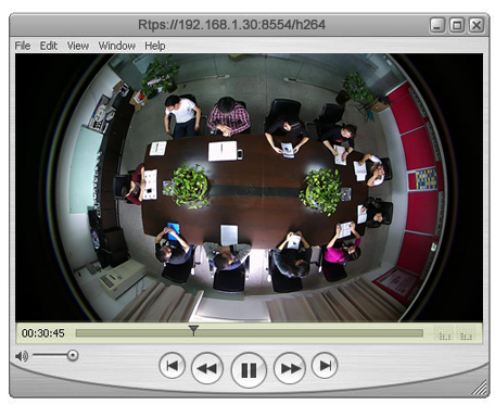 How to play RTSP video stream of IP cameras on VLC player, QuickTime