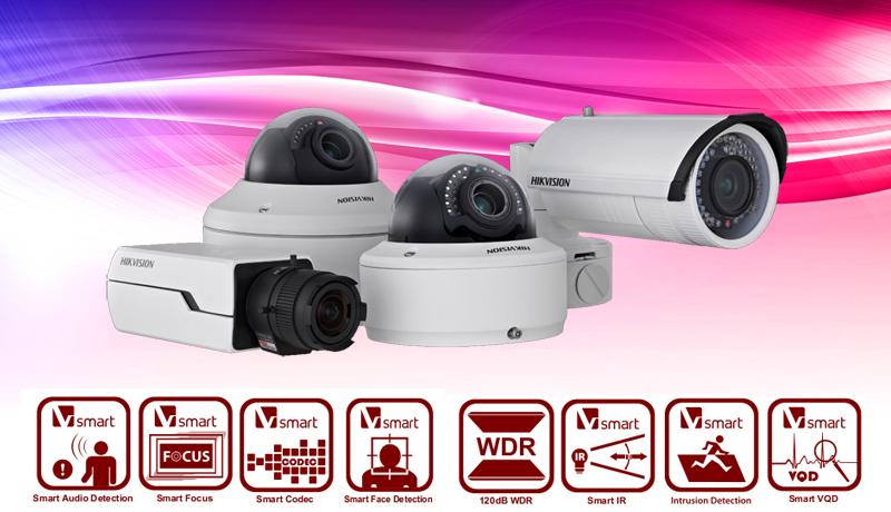 Hikvision IP Camera Smart Technologies