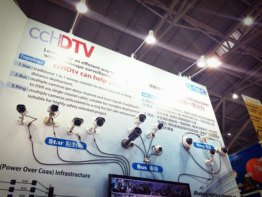 HD-over-coaxial Solution - ccHDtv