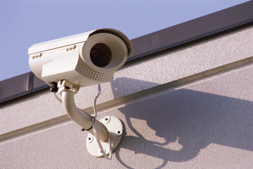 Install security camera in harsh environment
