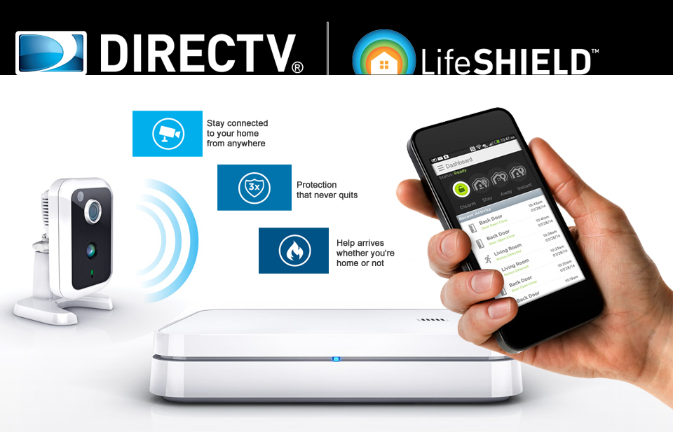 DIRECTV LifeShield Home Security System