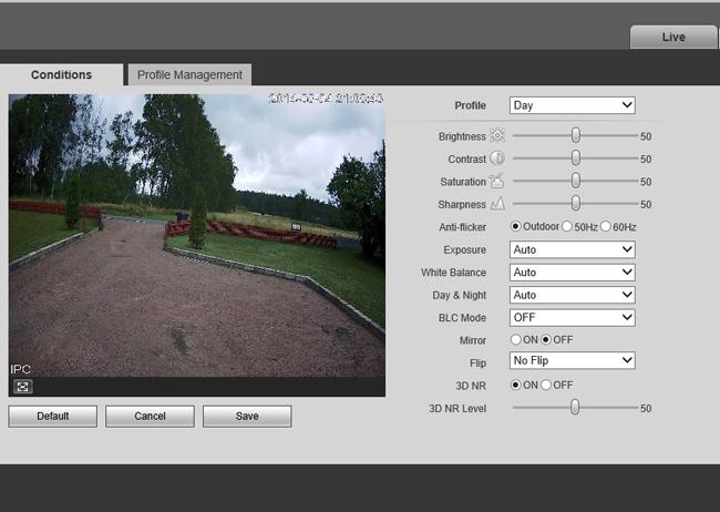 Ipm camera client ubers netzn betreiben