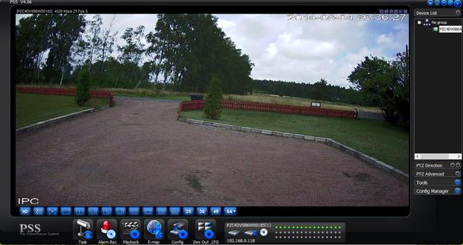 IR Bullet Network Camera: Dahua IPC-HFW4300S Hikvision DS-2CD2032-I