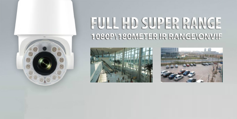 2.0 MP 1080p Network PTZ Dome Camera