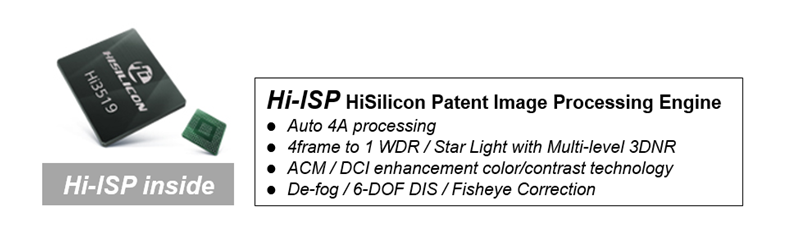 Hisilicon Hi-ISP video processing engine