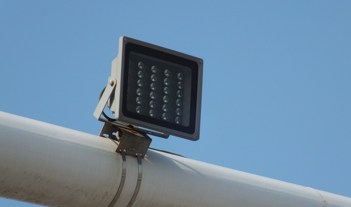 Security Camera Lighting Infrared Or White Light
