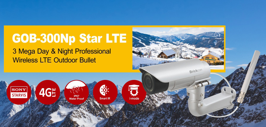 GOB-300Np Star-LTE Network Camera
