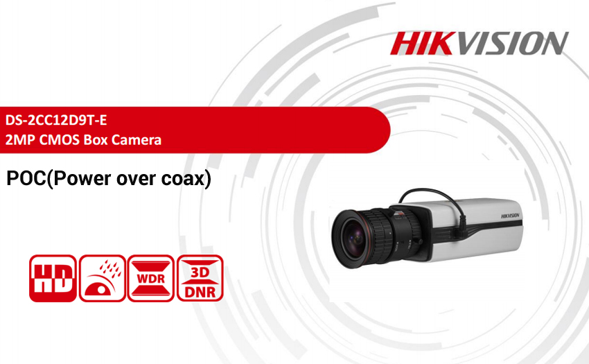Hikvision unveiled HDTVI PoC (power over coax) solution