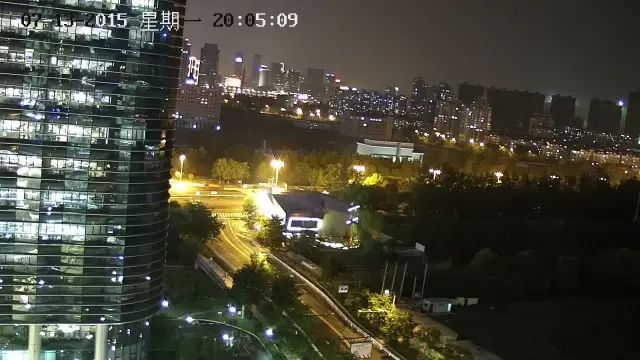 Night Performance 1080P H.265 IP PTZ Camera