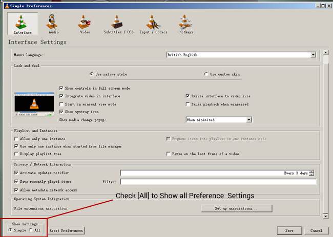 how to play dvr files on vlc