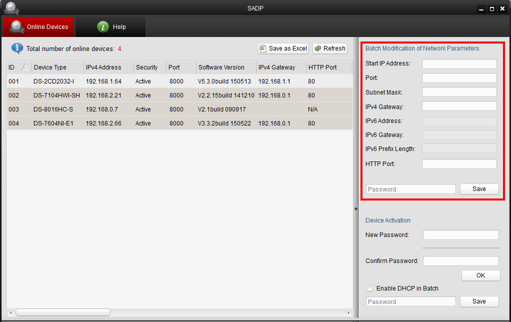 How to use Hikvision SADP software?