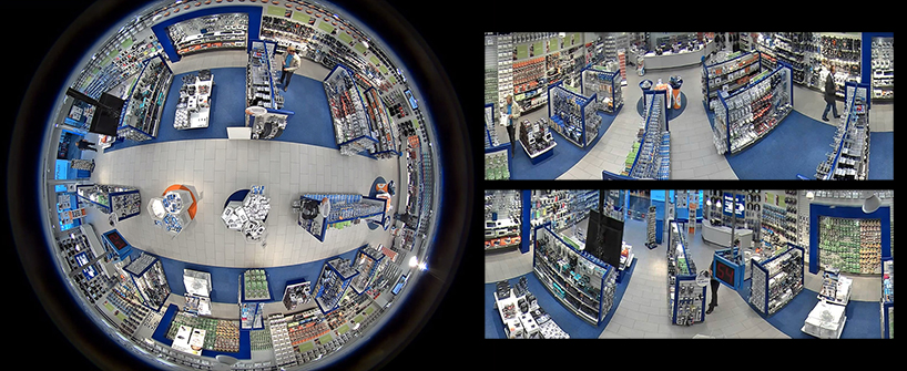 Panoramic Video Surveillance