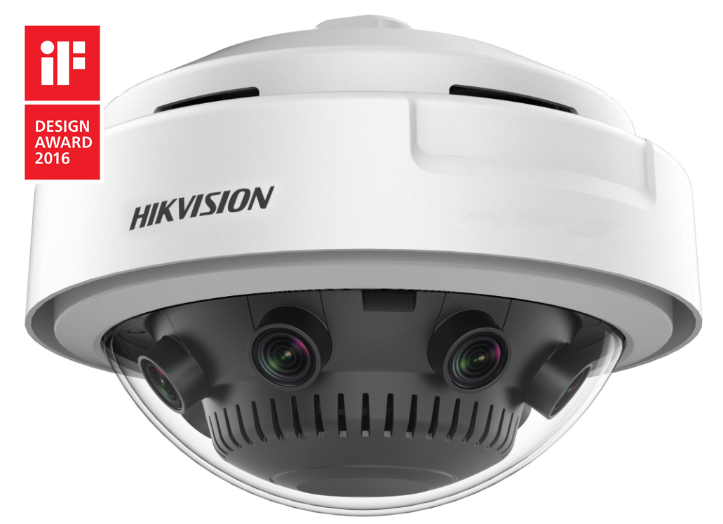 360 Degree Panoramic Dome Camera Hikvision Panovu Series