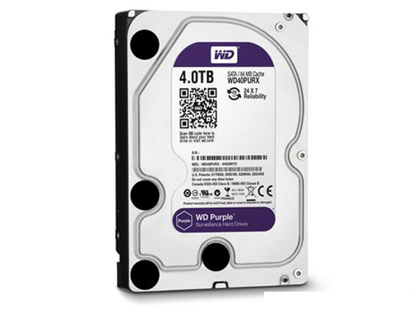 WD Purple HDD 4TB