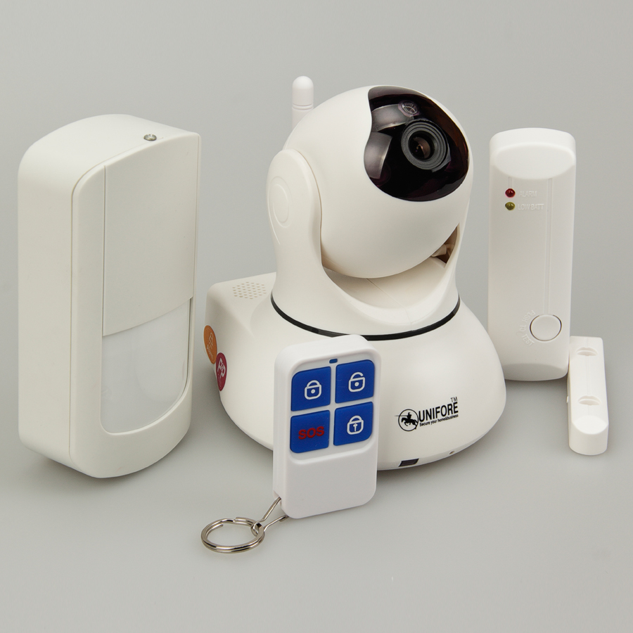 WiFi wireless home security camera system works with ...