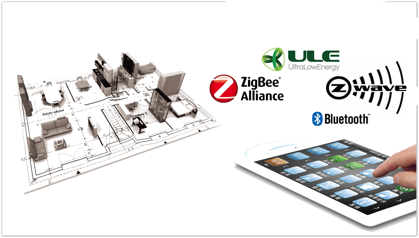 smart home technologies zigbee vs z wave dect ule. Black Bedroom Furniture Sets. Home Design Ideas