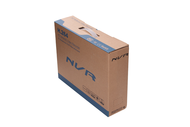 4CH PoE NVR Package Box