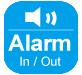 Alarm I / O-Symbol