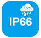 IP66 Weatherproof icon