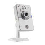 HD IP Cube Camera with PIR Sensor