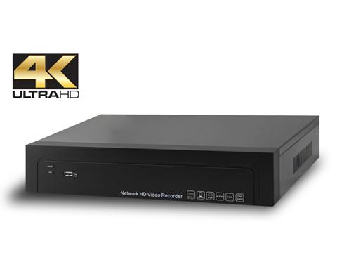 8CH H.264/H.265 NVR 4K/12MP
