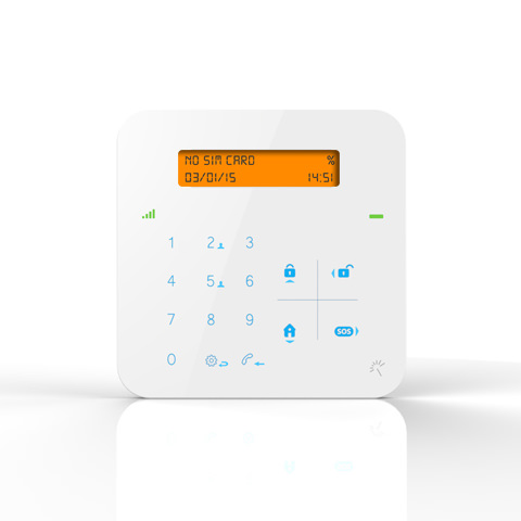X9 smart home alarm system free monitoring for Smart home alarm system